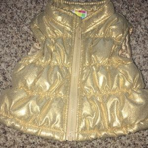 Other - Shimmery gold baby vest